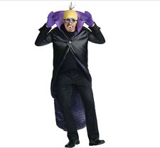 Adult Minion Dracula Halloween Costume Despicable Me Cape w Gloves H/pce teeth++