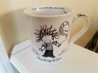 Enesco Children of the Inner Light by Marci Thinking of You 3D Coffee Mug 16 oz