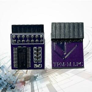 1* Tpm2.0 Security Module Supports Multi-brand Motherboards 12 14 18 20-1pin NEW