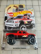 Hot Wheels '10 Toyota Tundra Red HW Truck Series