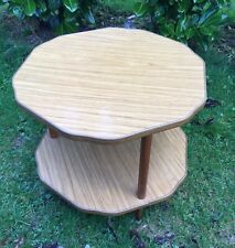 Vintage Retro 2 Tier Side Occasional Table