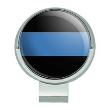 Thin Blue Line Police Law Enforcement Golf Hat Clip With Magnetic Ball Marker