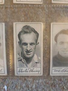 Famous Footballers (Series A4) Barratt & Co - No 54 C Fleming (Sunderland)