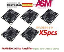 5pcs PAM8610 Power Amplifier Board 2x15W Amplifier Digital Two-Channel Stereo