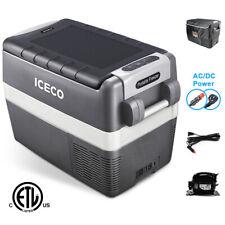 Portable 42Qt Fridge Electric Cooler 12V Car Mini 0°F~50°F Refrigerator Open-Box
