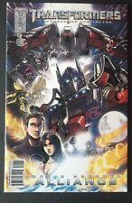 Transformers Revenge of the Fallen Alliance (2008) #1A Vf