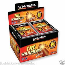 Grabber TOE Warmers 40 Pair