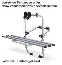 steelbike bicicleta transportín trasero RENAULT TWINGO 1993-2013 3 RUEDAS
