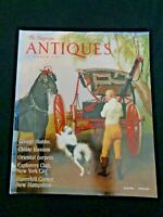 THE MAGAZINE Antiques 2004 George Stubbs Childe Hassam Explorers Club NYC Rugs