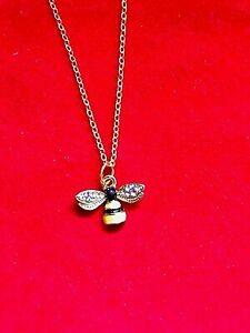 Beautiful BUMBLE BEE Necklace ~ Only £3.95 & FREE UK Post ~ Limited Availability