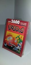 NEW BROWN BOX SEALED PAL VERSION DIG DUG GAME FOR ATARI 2600  ( NOT FOR USA)G13