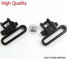 "Rifle Sling Swivels Heavy Duty 300 lb Quick Detach 1 1/4"" Width Swivel 9033"