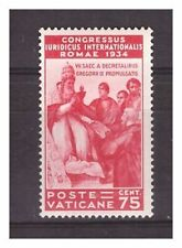 s16607) VATICANO 1935 MXLH* Nuovi Linguellati* Giuridico 75c 1v siglato signed