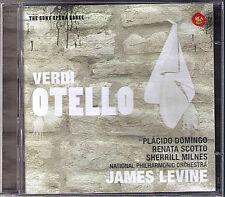 VERDI OTELLO Placido Domingo Renata Scotto Sherill Milnes Plishka LEVINE RCA 2CD
