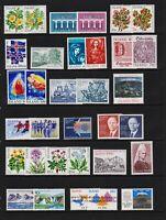 Iceland - 19 mint commemorative sets, cat. $ 37.25