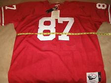 AUTHENTIC MITCHELL & NESS Dwight CLARK SF 49ers 1981 Jersey-48/ XL $250 NWT!