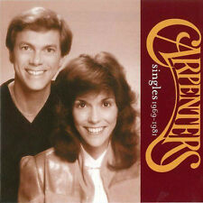 THE CARPENTERS (SINGLES - GREATEST HITS 1969 -1981 CD SEALED + FREE POST)