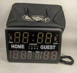 MacGregor 1240573 Multisport Indoor Scoreboard With Soft Carry Case - Excellent!