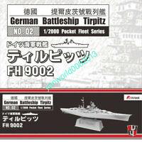 Flyhawk 9002 Battleship Tirpitz German 1/2000