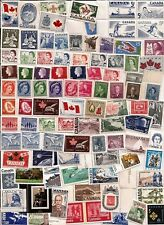 vintage MINT FULL GUM CANADA Canadian postage stamps lot C55G
