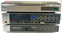 Sony PS-LX10, TA-V10, ST-V10 Combo Deck Turntable Amplifier & Tuner Tested Works