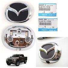 Genuine 2016-2017 Mazda Bt-50 Pro Logo Emblem RAER Pickup Cover Chrome 2 Pcs