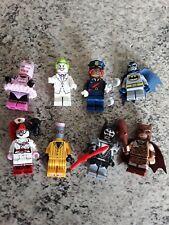 Paquete De Minifiguras Lego Batman Serie. 8 en total
