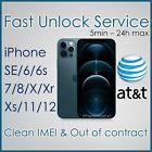 PREMIUM AT&T ATT FACTORY UNLOCK SERVICE CODE FOR IPHONE 12 11 Xs Xr X 8 7 6s 6 5 <br/> MORE THAN 17000 SOLD. SUPER FAST SERVICE.THE BEST PRICE