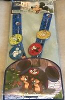 Disney Pin Trading Lanyard 4 pin set Mickey Mouse Starter Set 2018 Minnie WDW