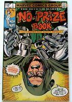 Marvel No-Prize Book #1 Marvel 1983 VF+ Bronze Age Comic Book Stan Lee 1st Print