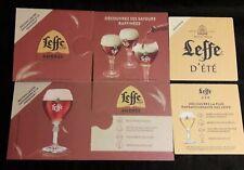 LEFFE SPRING 2 Sous Bocks bierdeckel bierviltje coaster  LEFFE DE PRINTEMPS