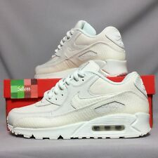 Nike Air Max 90 Premium Pack 700155-101 Serpente UK9 EUR44 US10 Bianco PRM 1 QS