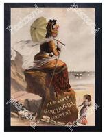 Historic Merchants Gargling Oil Liniment, c.1880 Advertising Postcard 2