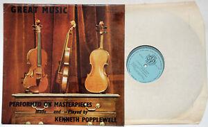 Mendelssohn Violin Concerto E Minor Rare Private Classical Stereo LP SNP 1970 Ex