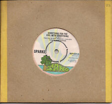 """Sparks Something For The Girl With Everything UK 45 7"""" single +Marry Me"""