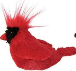 Ethical Spot Catnip Singing Song Bird Cat Toy Cardinal w/ sound motion activate