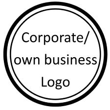 24 Own Corporate business logos cake topper icing sheet