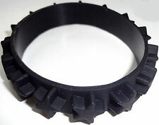 Black Rubber Silicone Stars Bracelet Wristband Bangle Mans Womens Ladies Jewelry