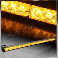 """35.5"""" Amber LED Traffic Advisor Emergency Warning Strobe Light Bar Universal 3"""