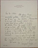 Autograph Letter - Actress & Producer, MARGARET WEBSTER