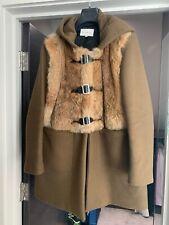 Sandro Rabbit Fur Coat Size 40 **Excellent Condition**