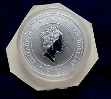 2011 Fiji Taku Turtle 5 Ounce Silver Coin Still Sealed
