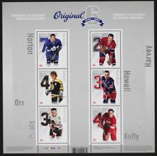 CANADA 2014 #2786 Canadian Defencemen Souvenir Sheet of 6 Mint NH