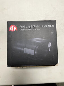 ATN Corporation ACMUABL1000 Auxiliary Ballistic Laser Rangefinder 1000 Black