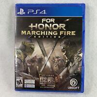 for Honor Marching Fire -PS4 - Sony PlayStation 4 - Brand NEW - Sealed