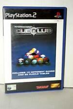 INTERNATIONAL CUE CLUB BILIARDO GIOCO USATO OTTIMO SONY PS2 EDIZIONE INGLESE GS1