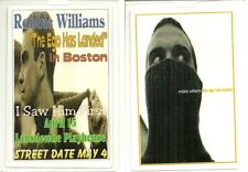 RARE / PASS CONCERT LIVE - ROBBIE WILLIAMS - ACCES / LIVE IN BOSTON ( USA )
