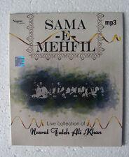 Sama-e-Mehfil ~ Live Collection of Nusrat Fateh Ali Khan - MP3 CD