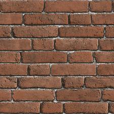 Bluff Red Designer Brick Wallpaper J30108