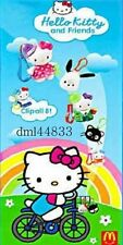 2001 McDonalds Hello Kitty MIP Complete Set - Lot of 8, Girls, 3+